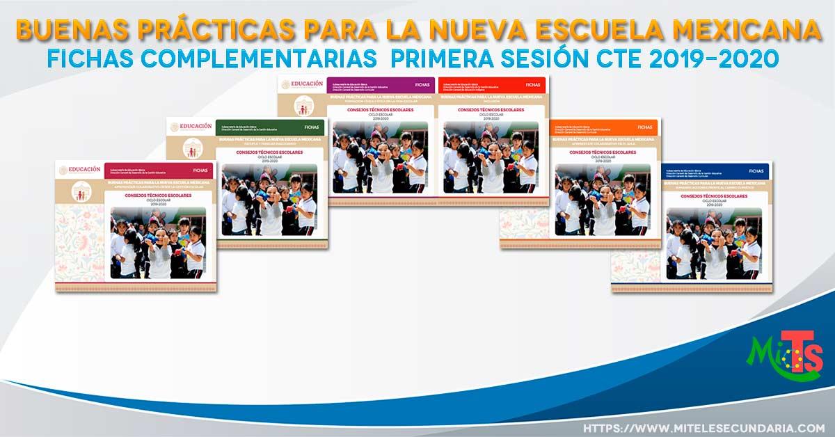 Buenas prácticas para la Nueva Escuela Mexicana. Ficha 1 2019-2020