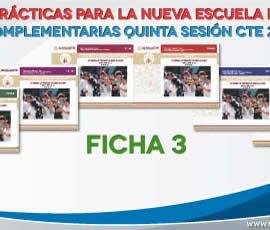 Buenas prácticas para la Nueva Escuela Mexicana. Ficha 3 2019-2020