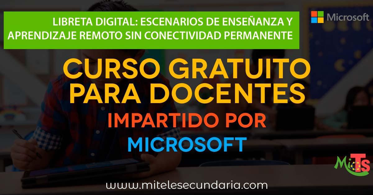 Libreta Digital: Escenarios de enseñanza y aprendizaje remoto sin conectividad permanente. Curso gra