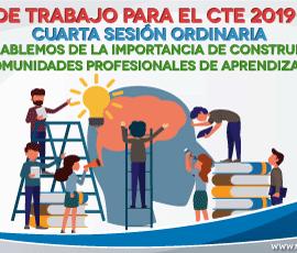 Guía de trabajo para el CTE cuarta sesión 2019-2020