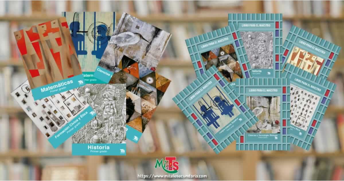 Libros Primer grado: Telesecundaria Nuevo Modelo Educativo