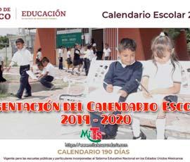 La SEP presenta el Calendario Escolar 2019-2020